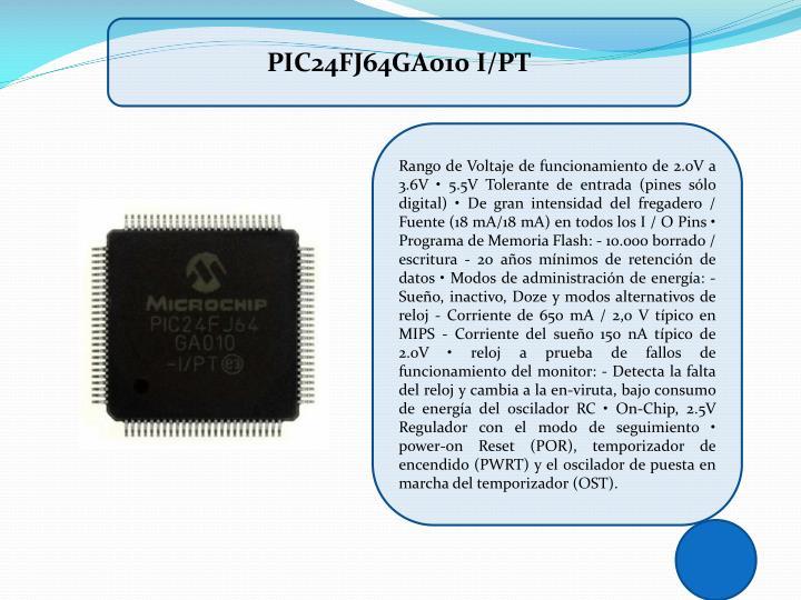 PIC24FJ64GA010 I/PT