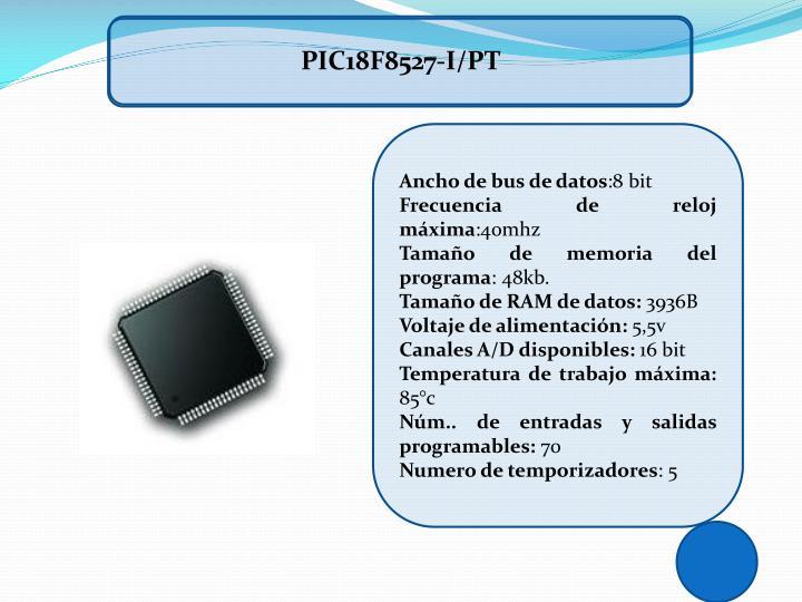 PIC18F8527-I/PT