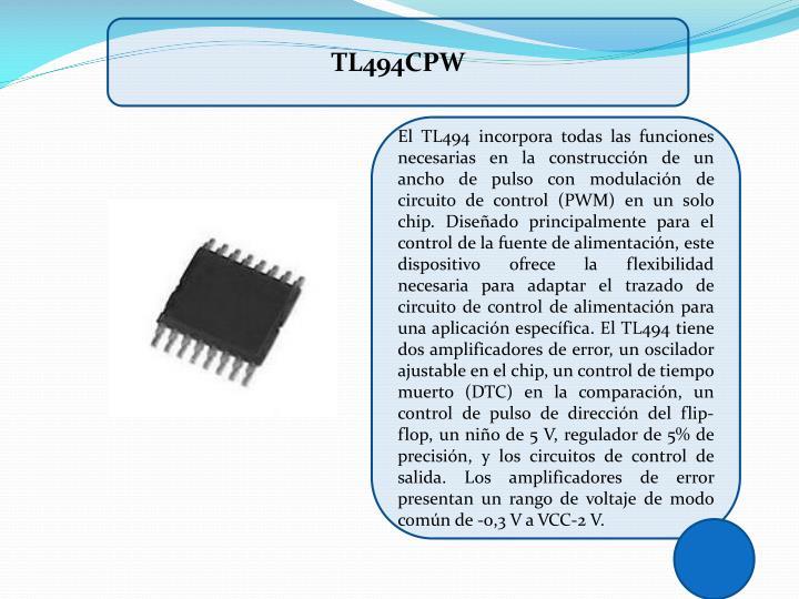 TL494CPW