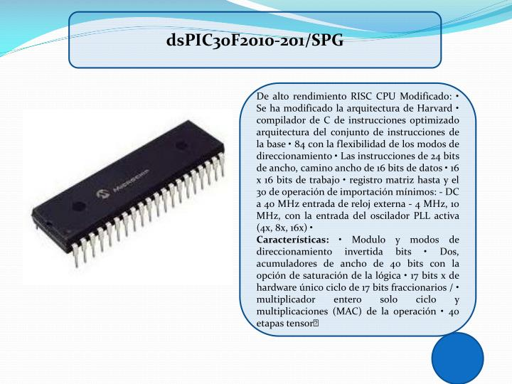 dsPIC30F2010-201/SPG