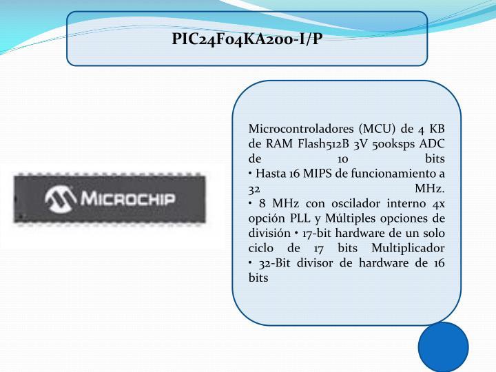 PIC24F04KA200-I/P