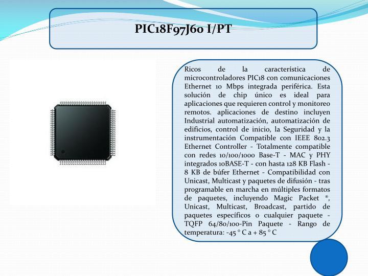 PIC18F97J60 I/PT