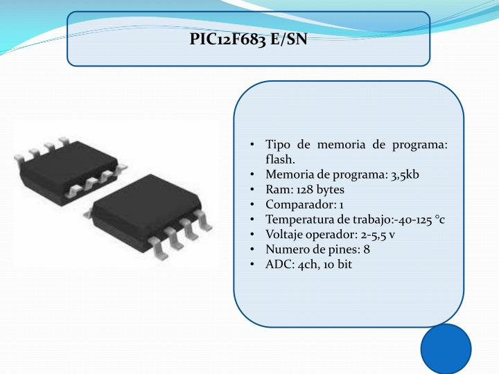PIC12F683 E/SN