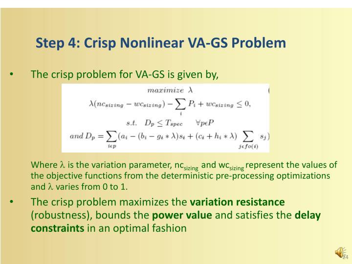 Step 4: Crisp
