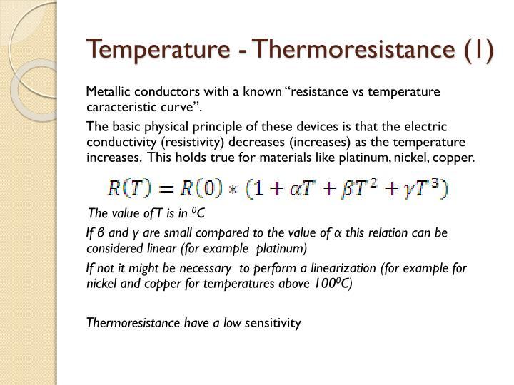 Temperature -
