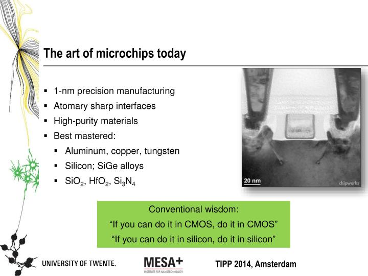 The art of microchips today