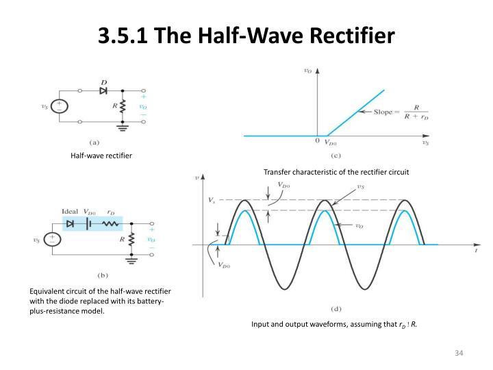 3.5.1 The Half-Wave Rectifier