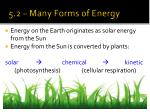 5 2 many forms of energy