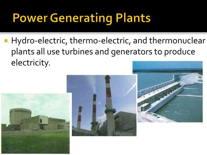 Power Generating Plants