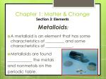 chapter 1 matter change section 3 elements31