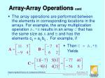 array array operations cont1