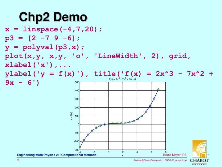 Chp2 Demo