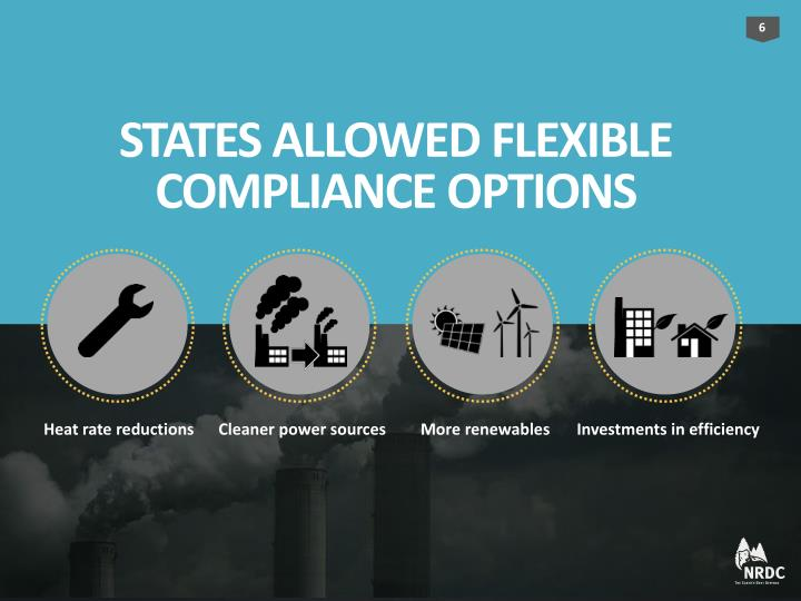 STATES ALLOWED FLEXIBLE