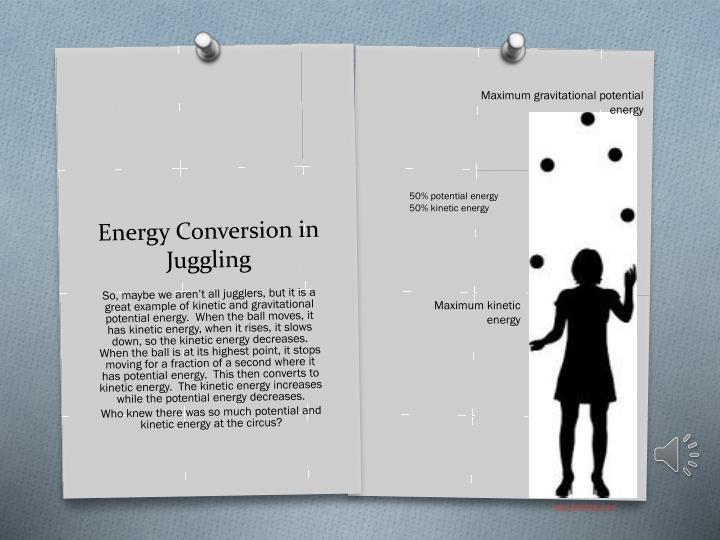 Maximum gravitational potential energy