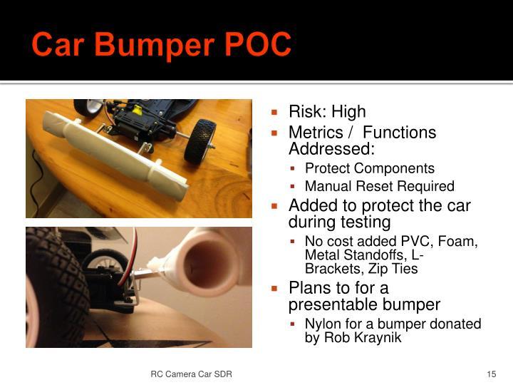 Car Bumper POC