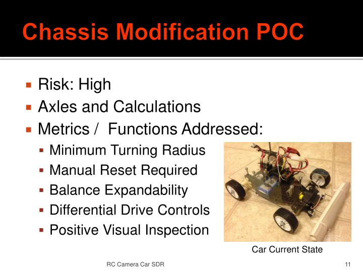 Chassis Modification POC