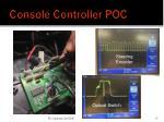 console controller poc1