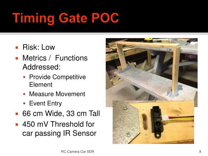 Timing Gate POC