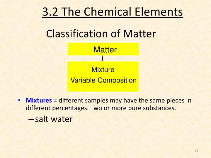 3.2 The Chemical Elements