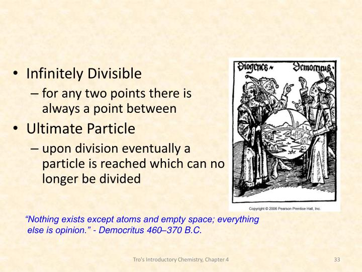 Infinitely Divisible