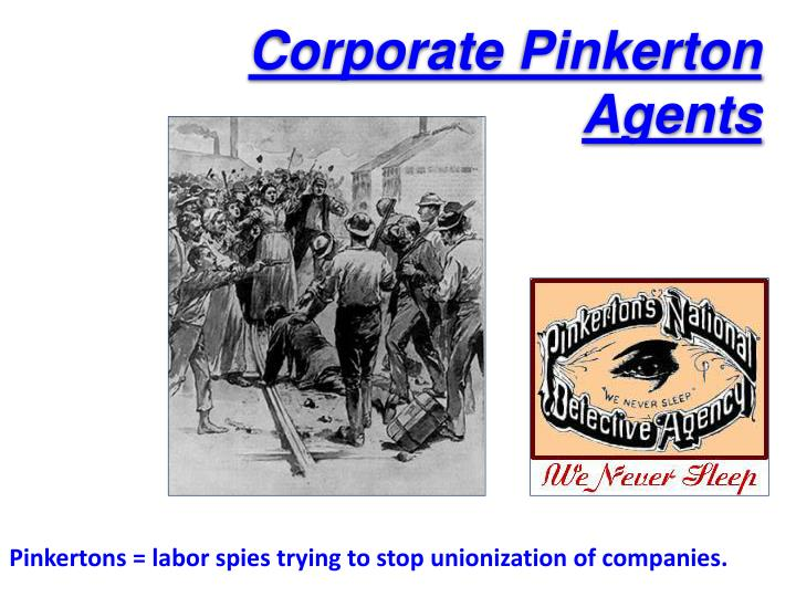 Corporate Pinkerton