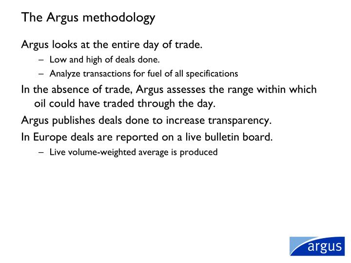 The Argus methodology