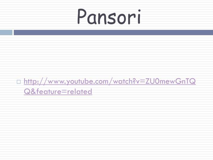 Pansori
