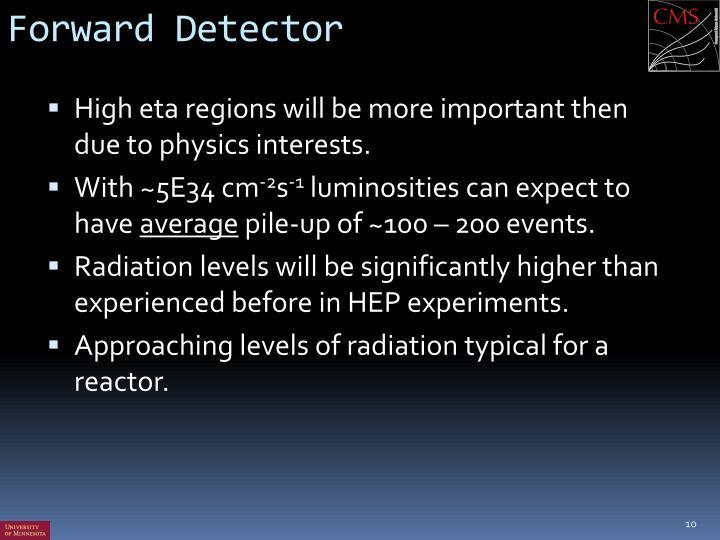 Forward Detector
