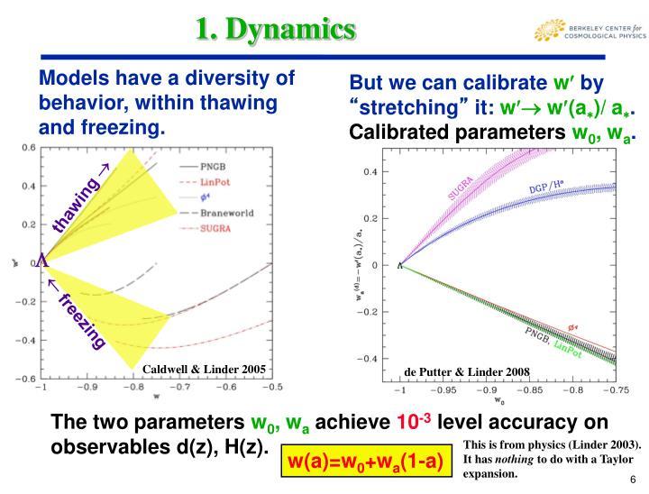 1. Dynamics