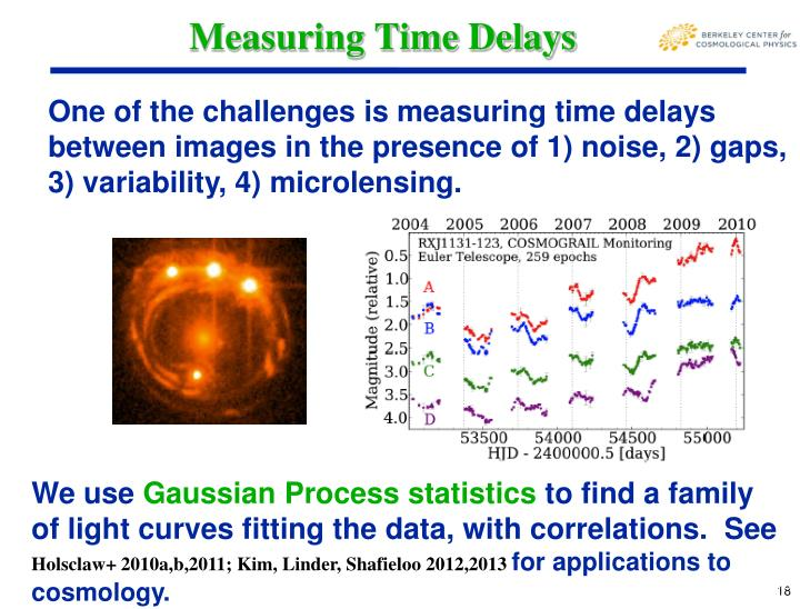 Measuring Time Delays