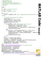 matlab code method 2