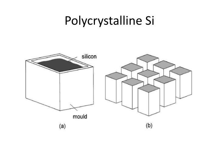 Polycrystalline Si