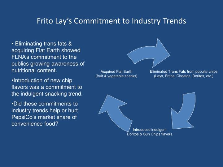 Frito Lay's Commitment to Industry Trends
