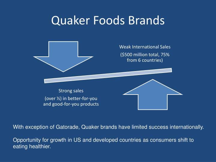 Quaker Foods Brands