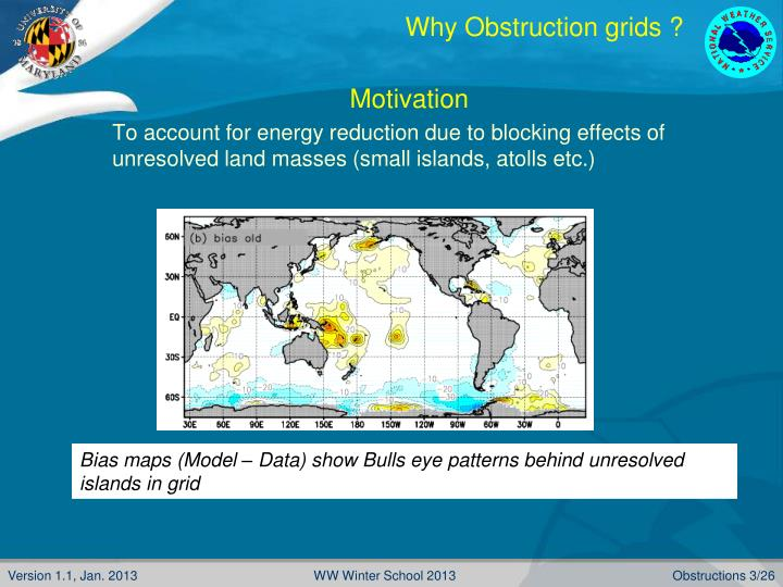 Why Obstruction grids ?