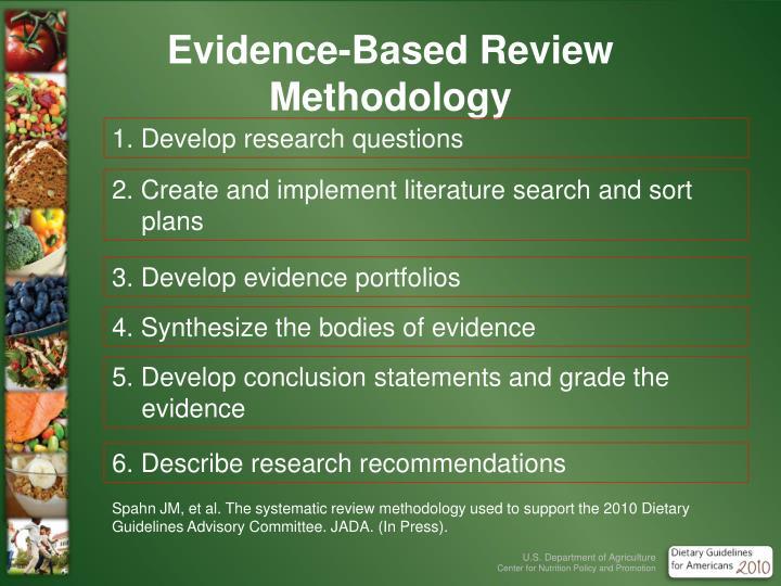Evidence-Based Review Methodology