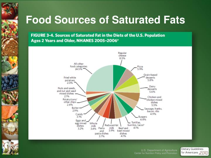 Food Sources of Saturated Fats