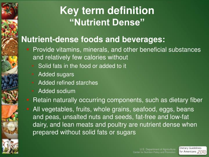 Key term definition