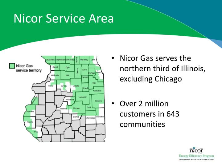 Nicor service area