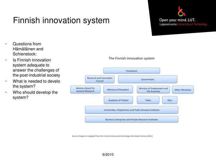 Finnish innovation system