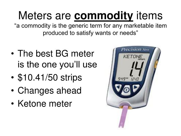 Meters are