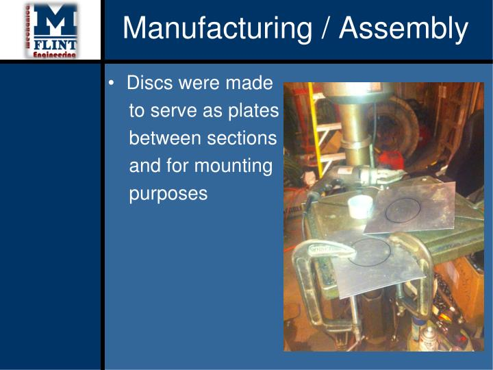 Manufacturing / Assembly