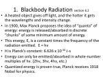 1 blackbody radiation section 6 2