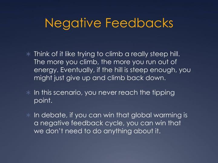 Negative Feedbacks
