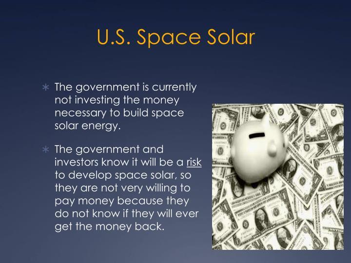 U.S. Space Solar