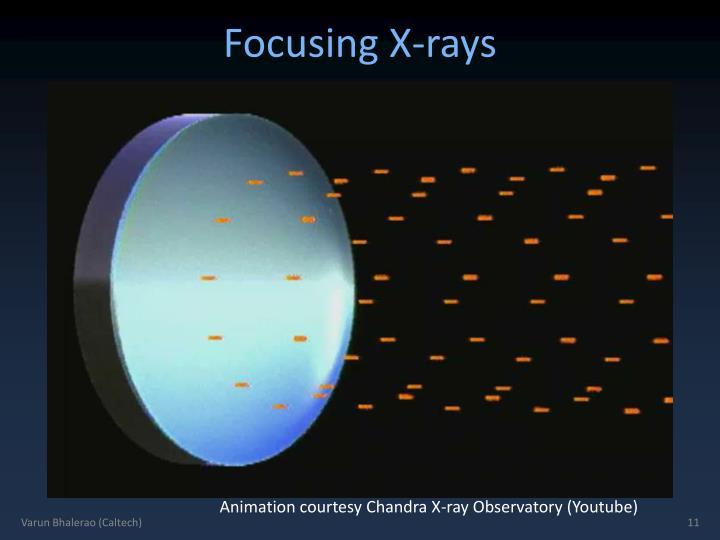 Focusing X-rays