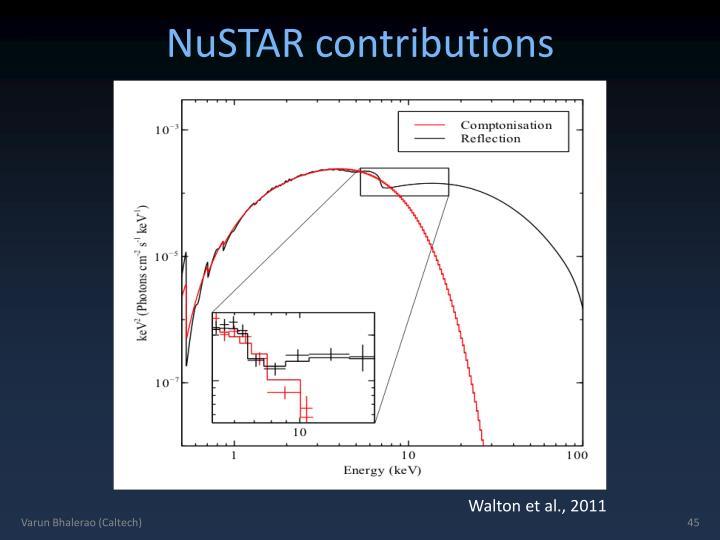 NuSTAR contributions