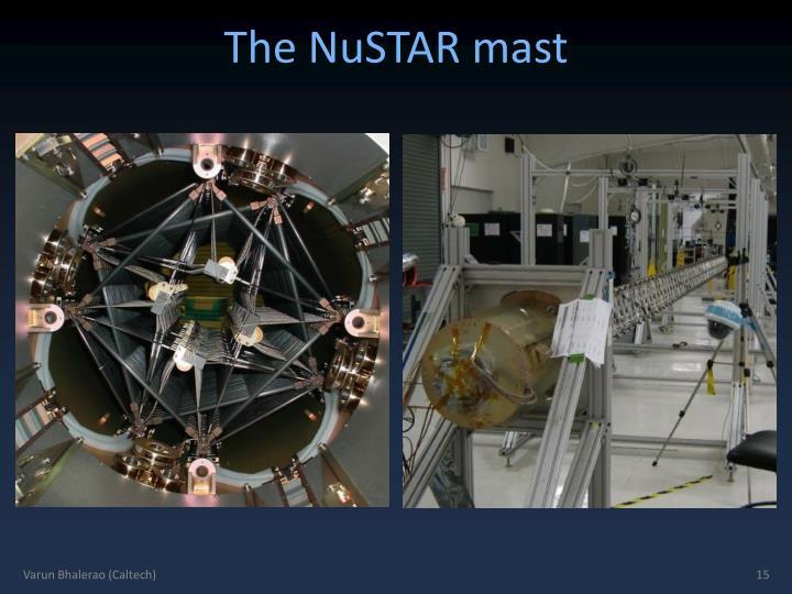 The NuSTAR mast