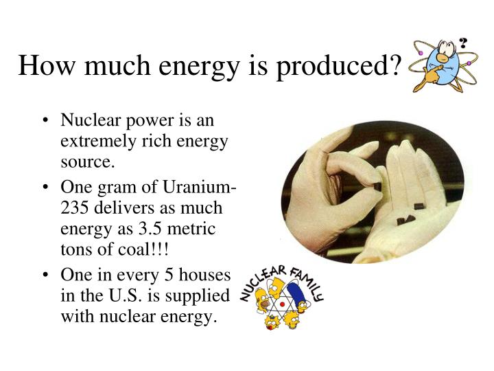 how nuclear energy is formed In a nuclear power plant, energy is derived from splitting atomic nuclei the  process is called fission, and it heats water to form steam.