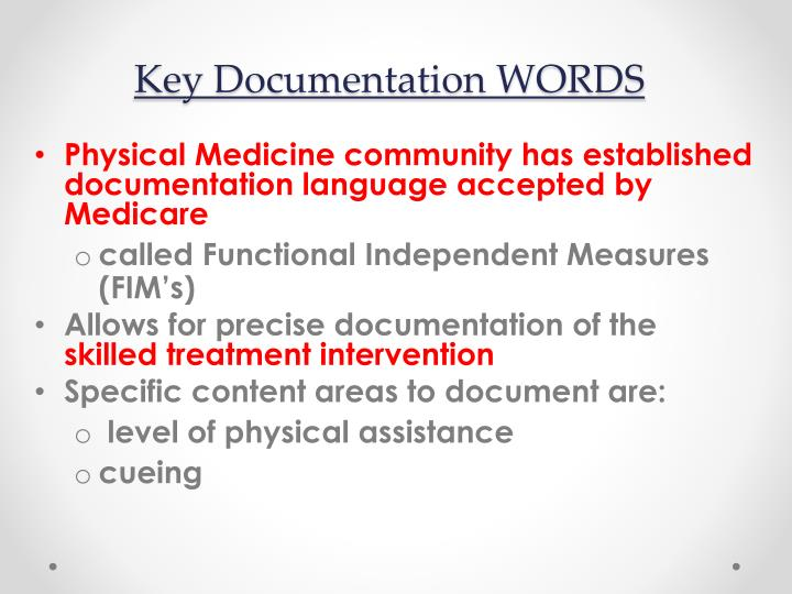 Key Documentation WORDS